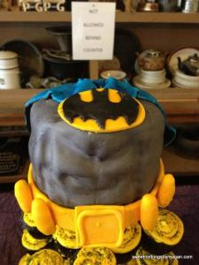 batman cupcake topper