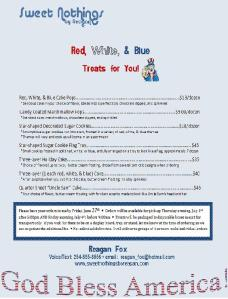 FOURTH OF JULY 2014 flier